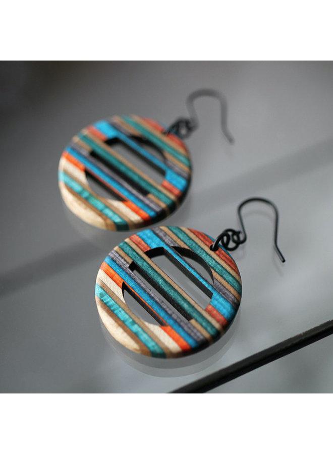 Horizontal Dangle Earrings