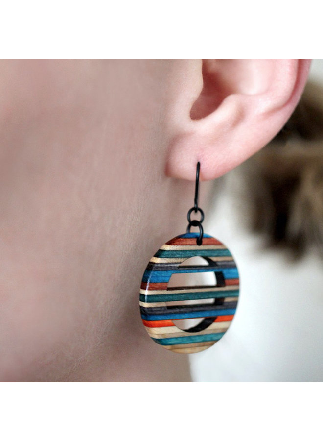 Horizontal Dangle Earrings