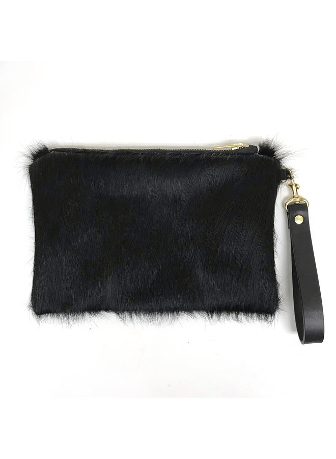 Recycled Fur Clutch