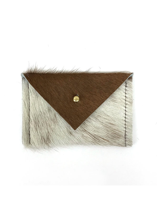 Recycled Fur Card Wallet