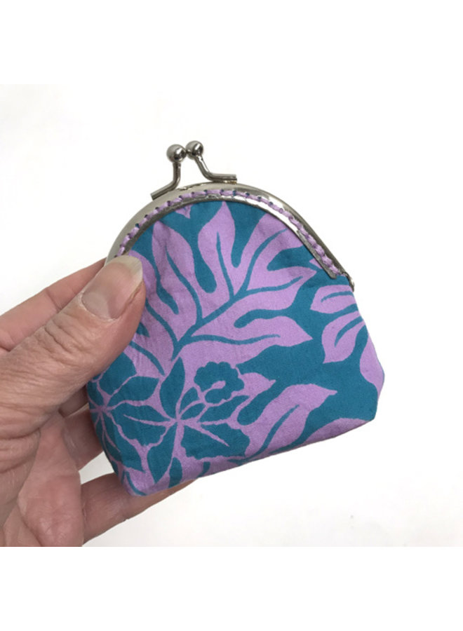 Vintage Fabric Coin Pouch