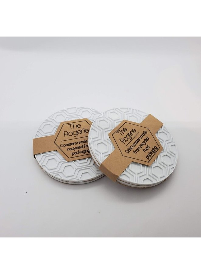Recycled Plastic Drink Coasters