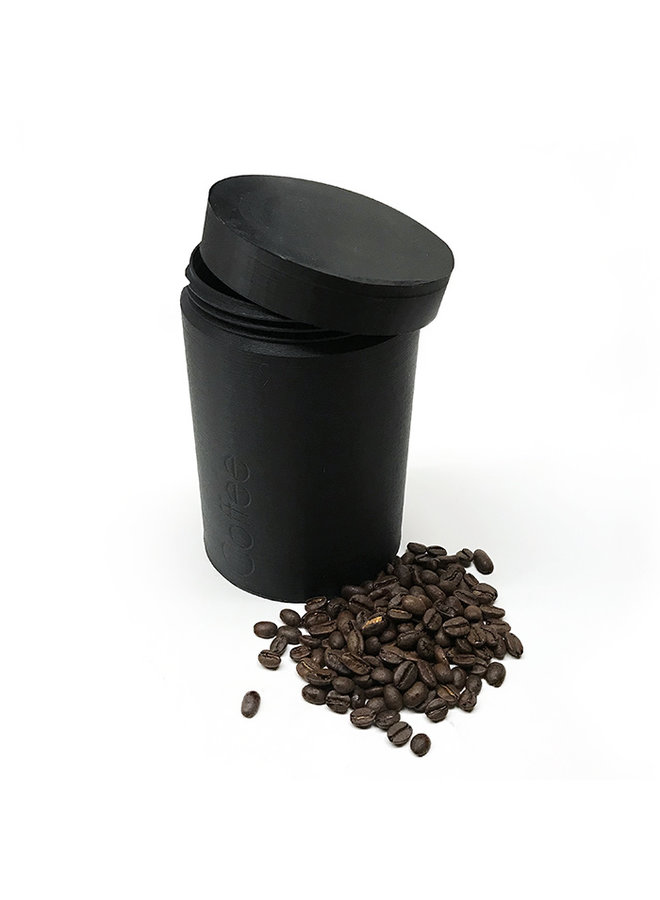 Recycled Plastic Coffee Canister