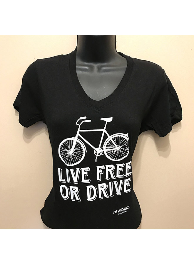 Woman's Live Free or Drive T-shirt