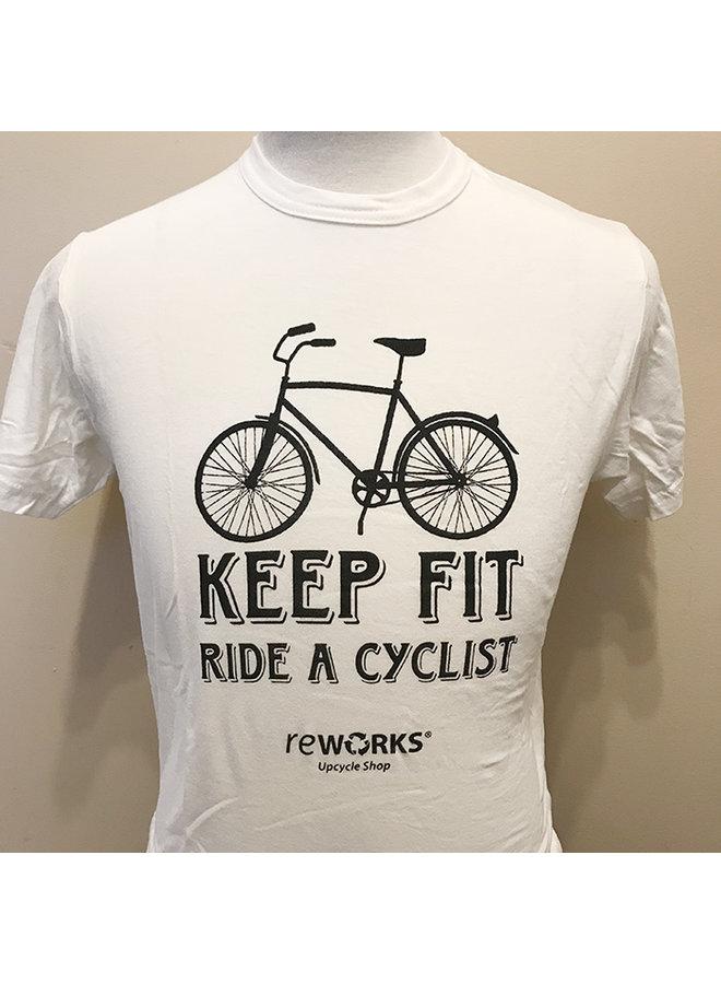 Men's Keep Fit Ride a Cyclist T-shirt