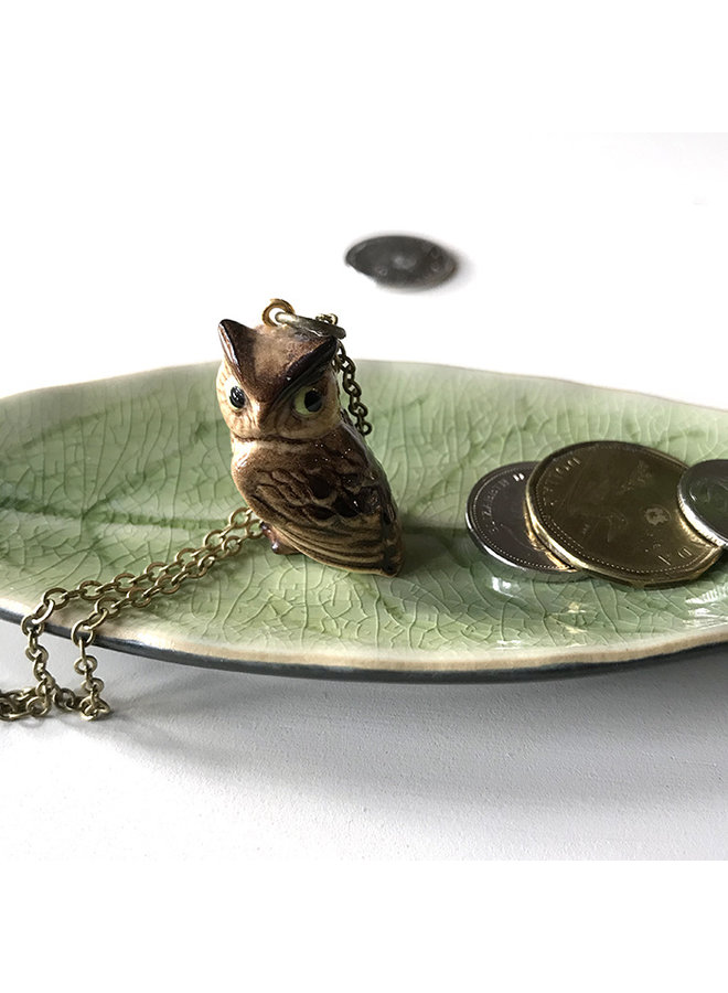Collector Porcelain Animal Necklace