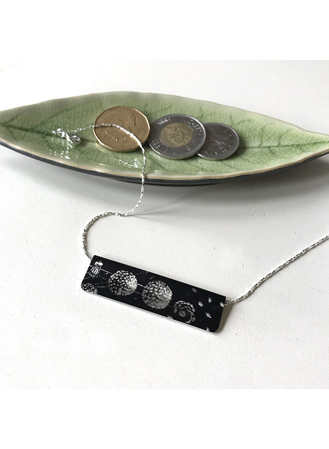 Recycled Aluminum Statement Necklace