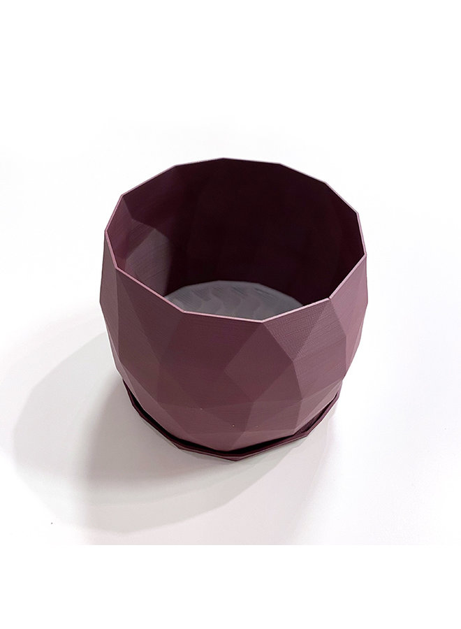 """6"""" Recycled Plastic Planter in Cozy Colours"""