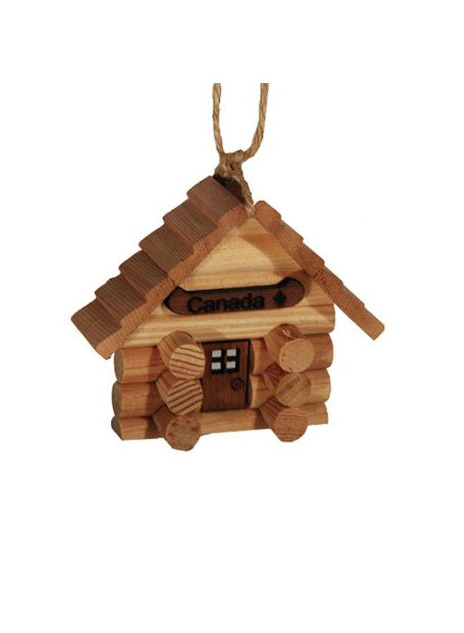 Log Cabin Ornament Kit