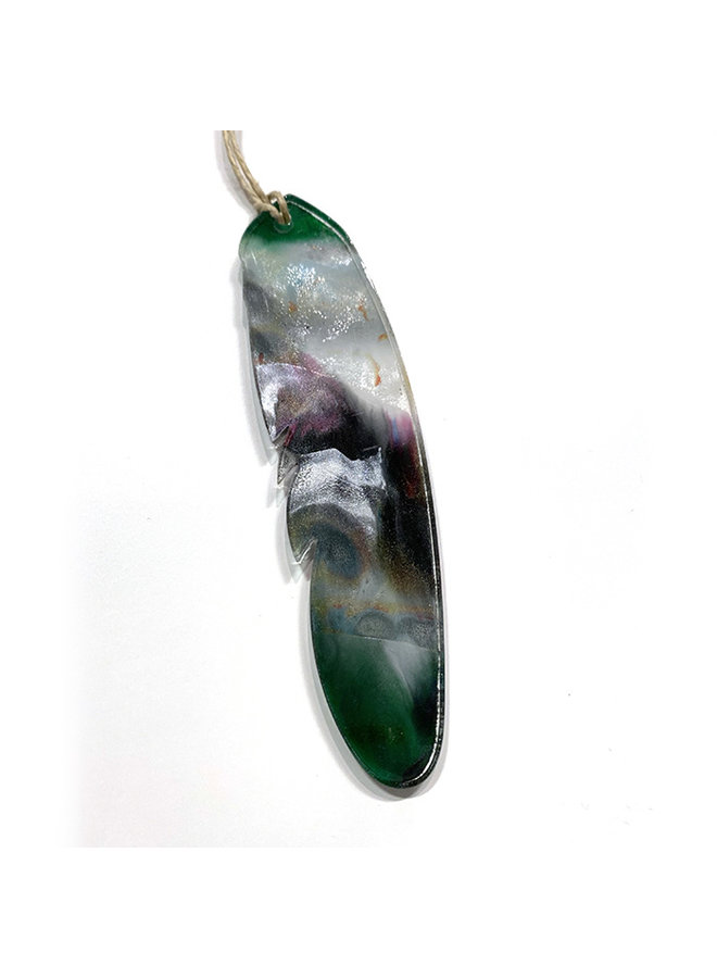Recycled Acrylic Feather