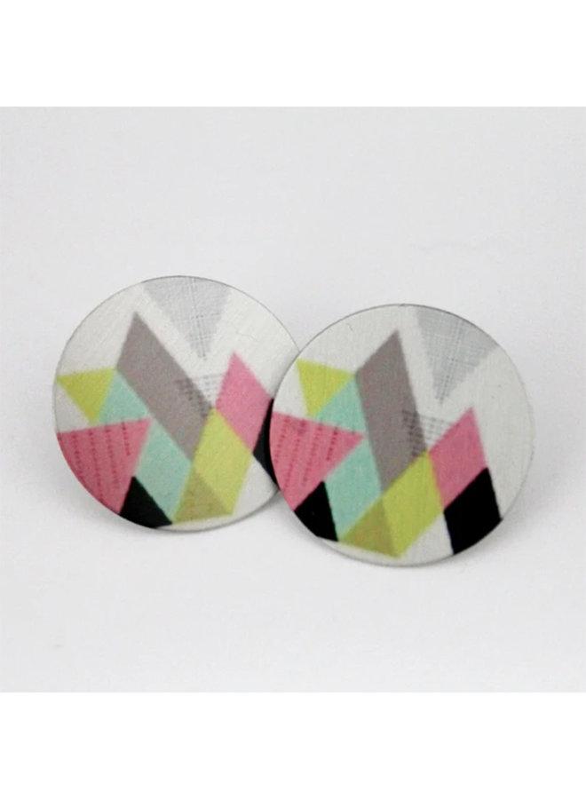 Recycled Aluminum Earrings