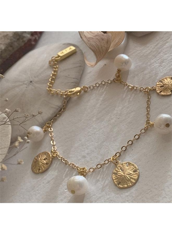 Sand Dollar Charm Bracelet