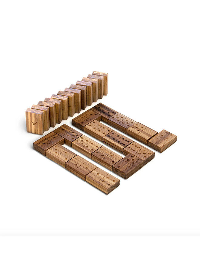 Recycled Chopstick Dominoes