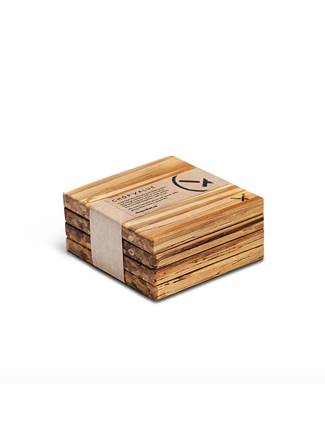 Recycled Chopstick Coasters