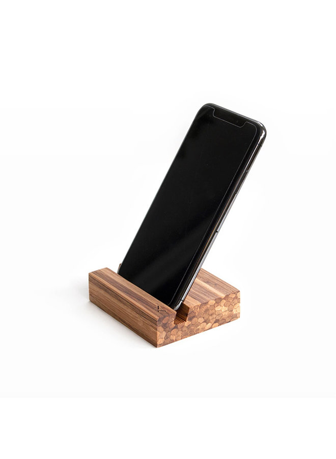Recycled Chopstick Phone Stand