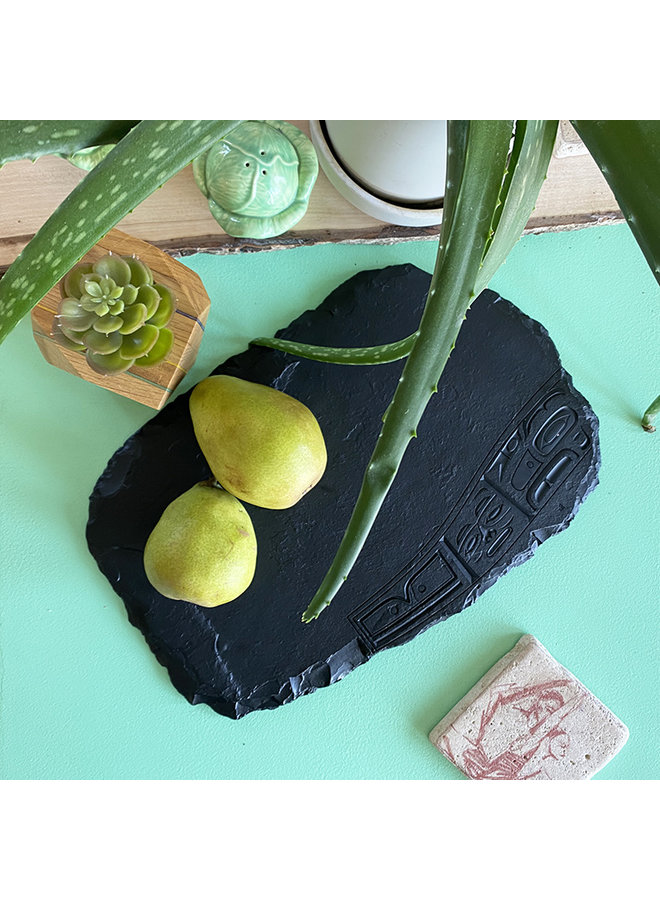 """Recycled Glass """"Chilkat"""" Large Rectangular Cheese Board"""