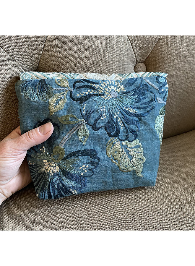 Recycled Linen Clutch