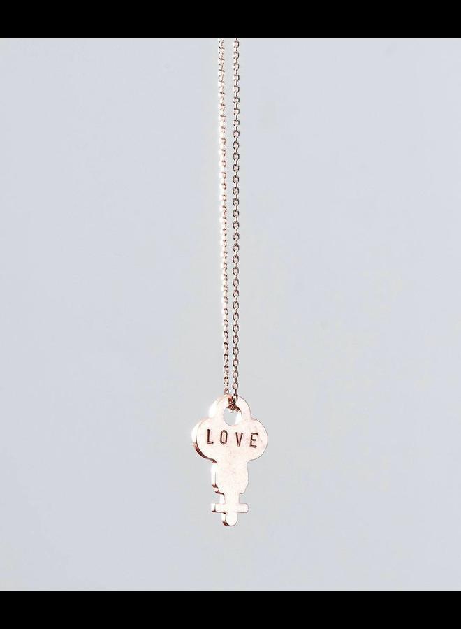 Dainty Key Necklace