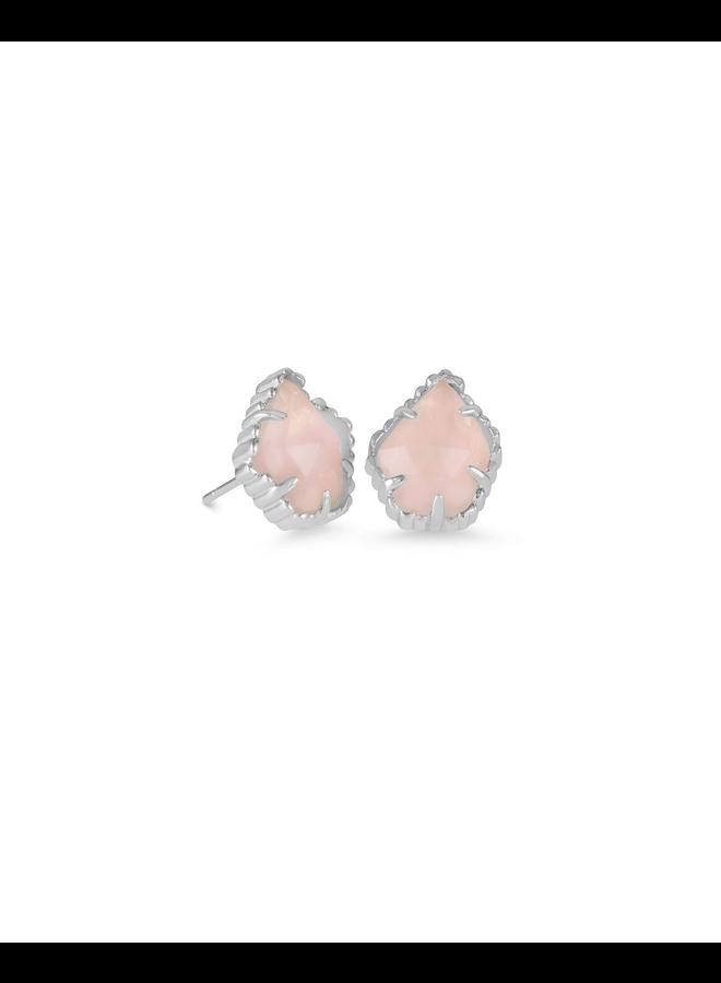 Tessa Stud Earring- Rhodium