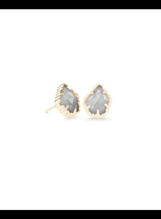 Tessa Stud Earring- Gold