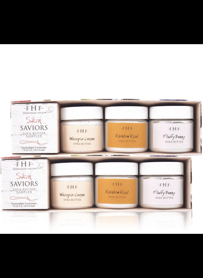 Skin Saviors Shea Butter Sampler Set
