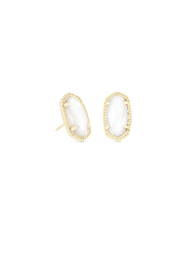 Ellie Stud Earring- Gold
