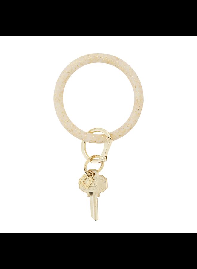 Silicone O- Venture Key Ring- Confettis