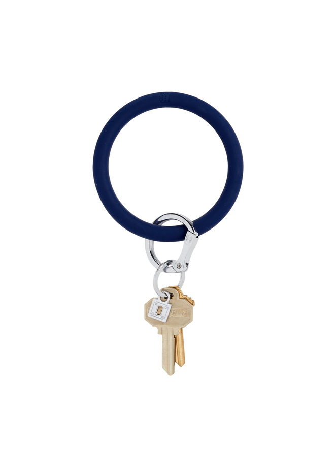 Silicone O-Venture Key Ring- Neutrals