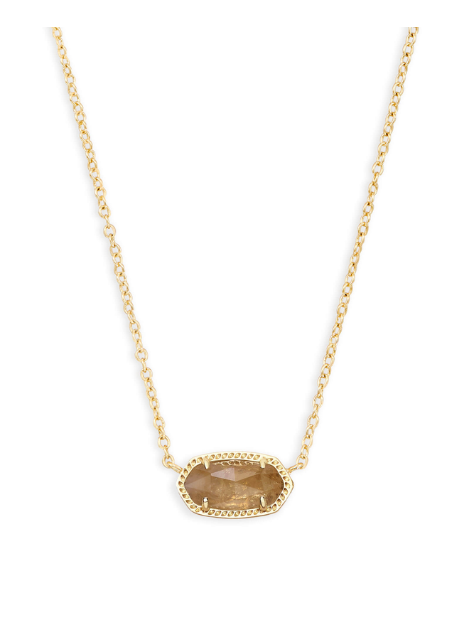 Elisa Necklace- Gold Birthstone Collection