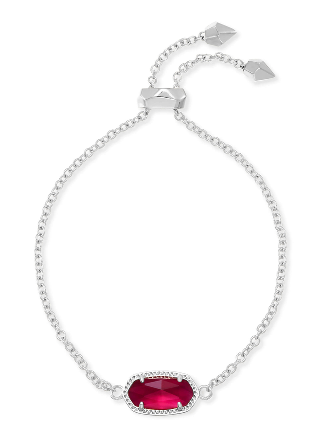 Elaina Bracelet- Rhodium Birthstone Collection