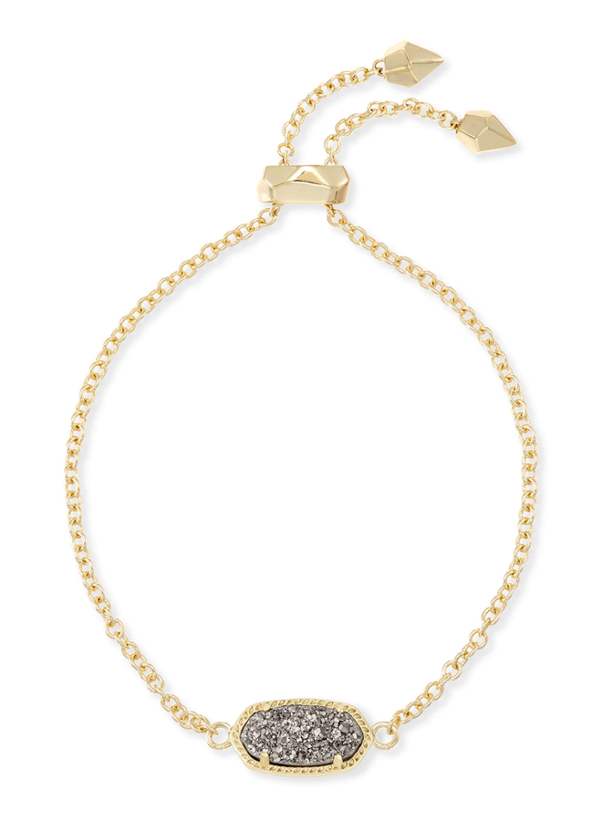 Elaina Bracelet- Gold Drusy Collection