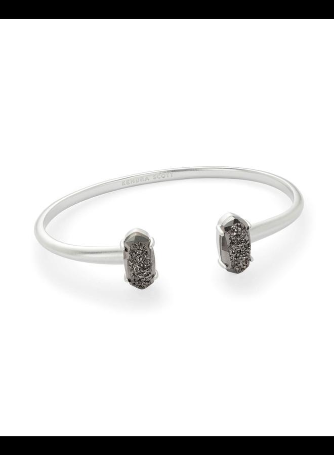 Edie Bracelet- Rhodium Drusy Collection
