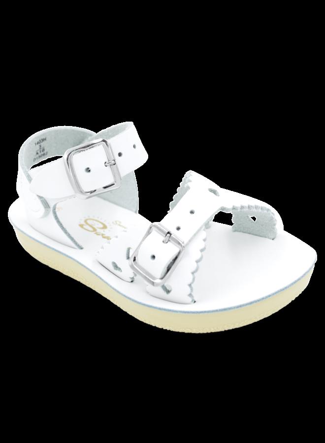 Sweetheart White Sandal