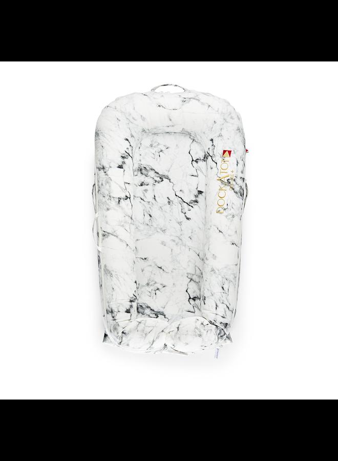 Deluxe + Dock  Carrara Marble