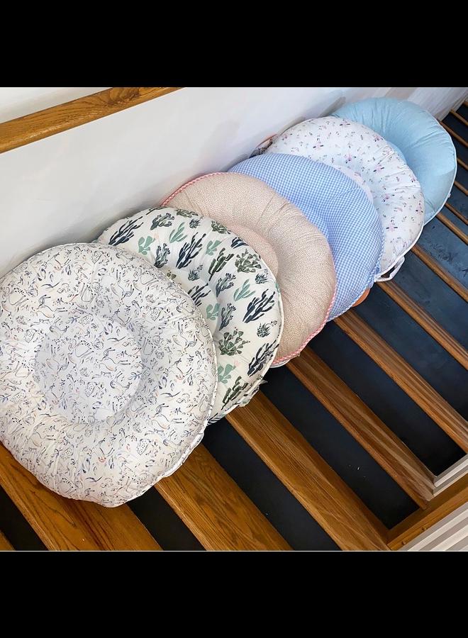 Morgan Natural Floor Pillow