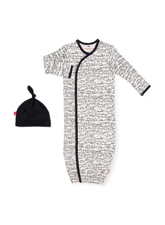 Going places Magnetic Gown Set