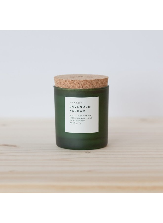 Slow North Frosted Candle