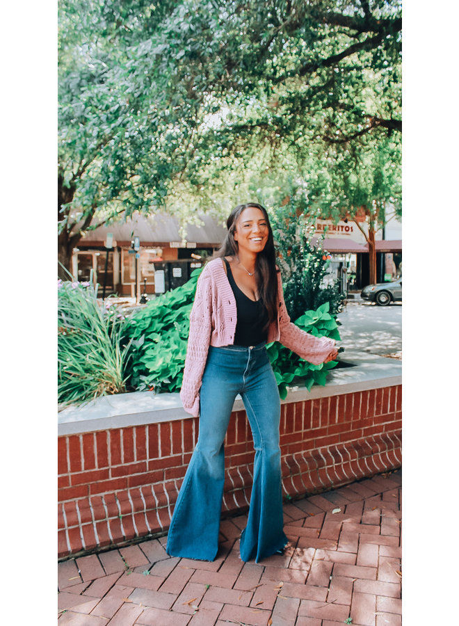 Just Float On Flare Jericho Blue Jeans