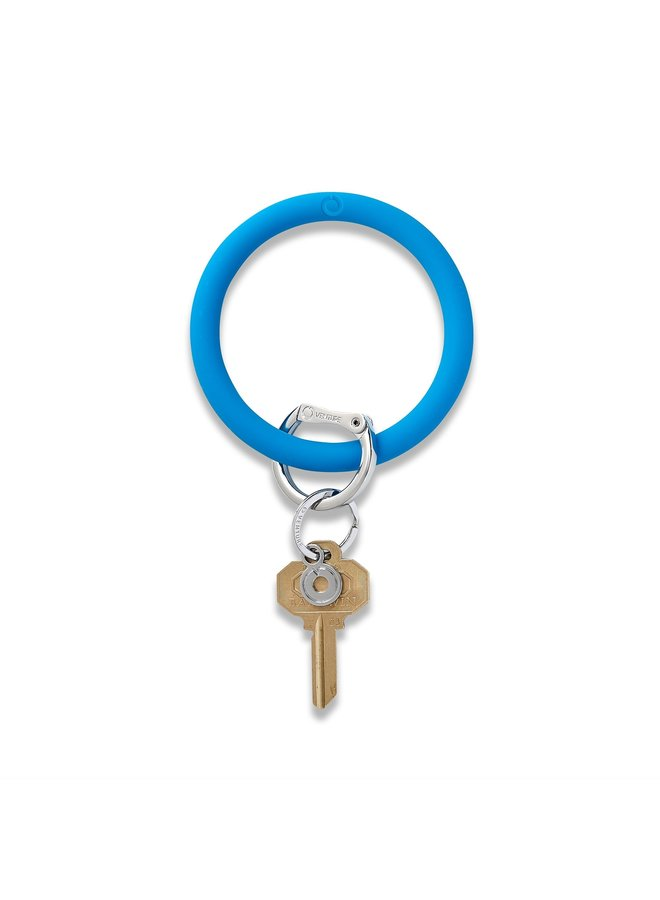 Silicone O-Venture Key Rings- Brights