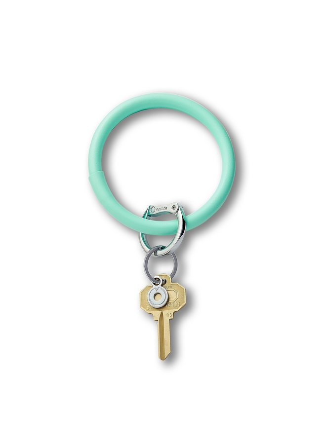 Leather O-Venture Key Rings