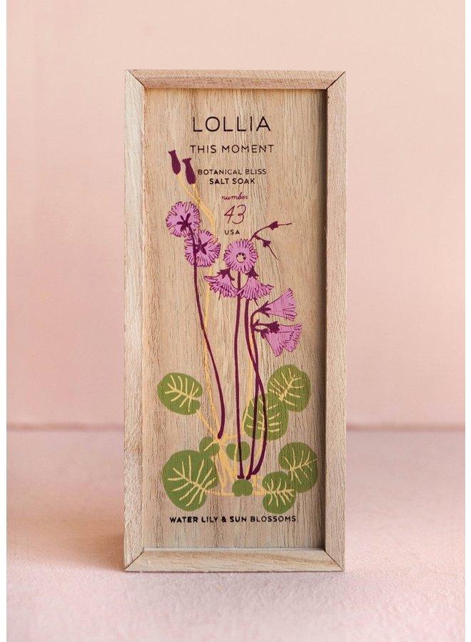 Lollia Bath Salt  Soak
