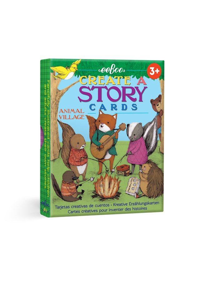 Creat a Story Cards Animal Village