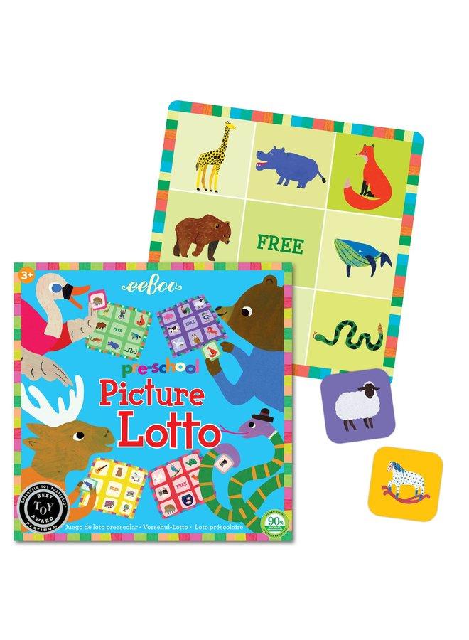 Preschool Picture Lotto