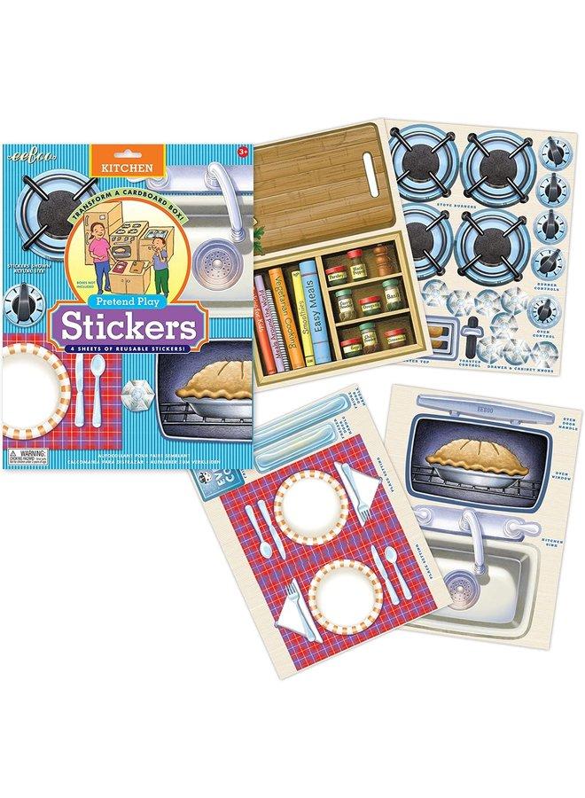 Kitchen Pretend Stickers