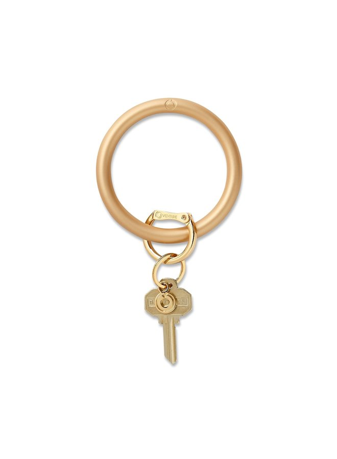 Silicone O-Venture Solid Key Ring