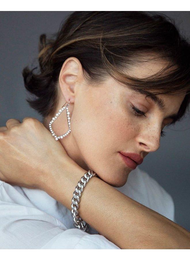 Sophee Crystal Dangle Earrings