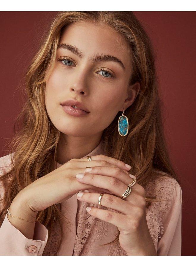 Elle Dangle Earring- Gold
