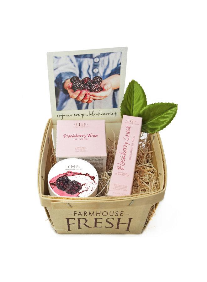 Blackberry Lip Gift Basket