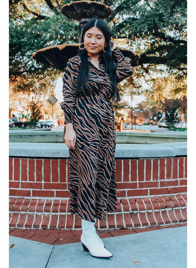 Black Word on the Street Dress