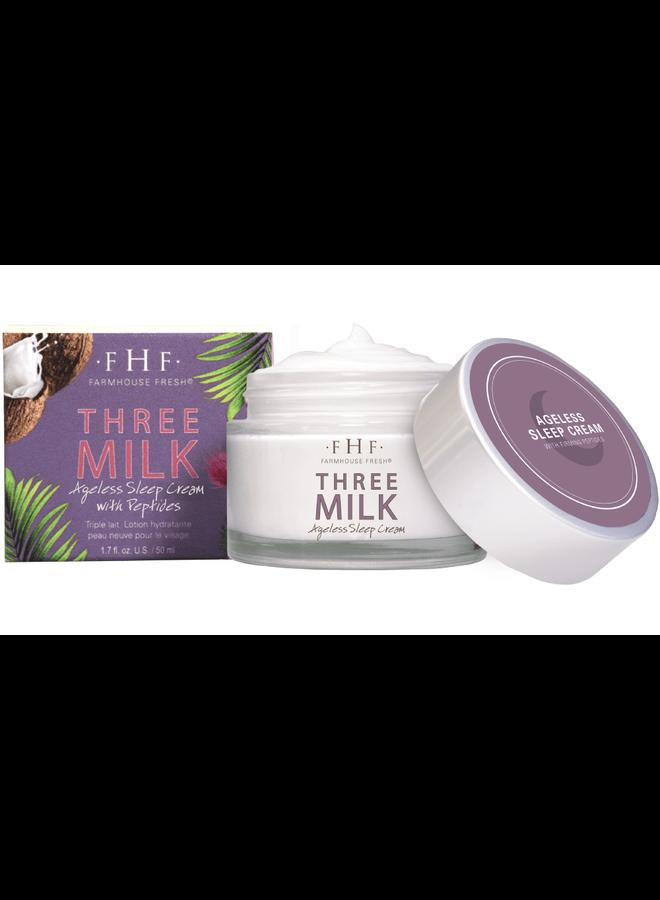 Three Milk Moisturizer 2.5 OZ.